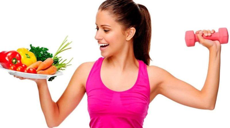 Спорт и правильное питание ускоряет обмен веществ