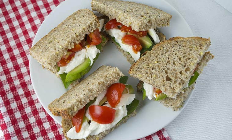 Питательный бутерброд для похудения