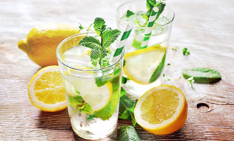 апельсиново-мятная вода