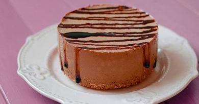 Шоколадный чизкейк без муки и яиц