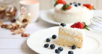 Диетический торт Рафаэлло