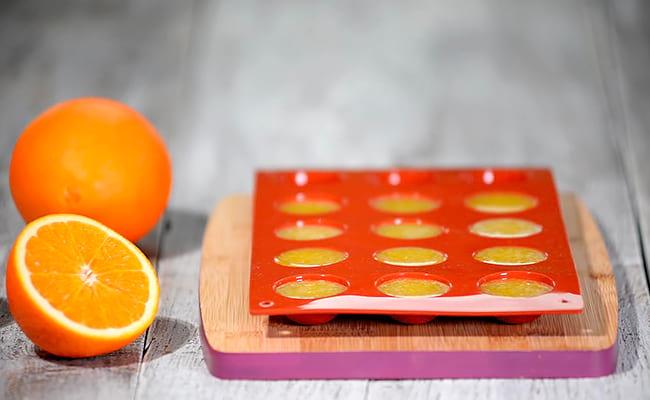 формируем апельсиновую начинку