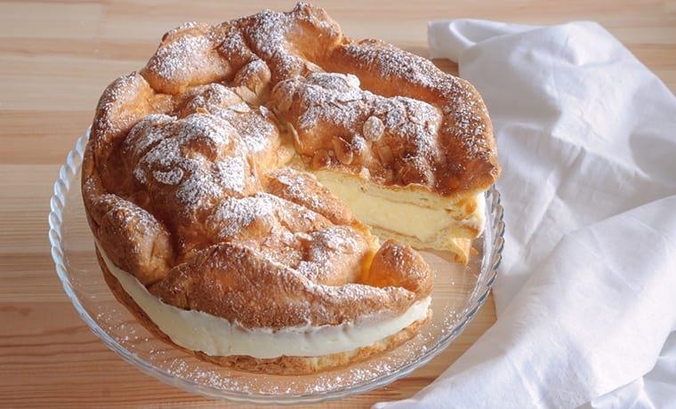 Польский заварной торт