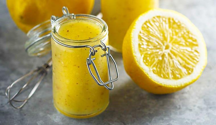 Лимонный винегрет
