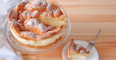 Заварной торт Карпатка