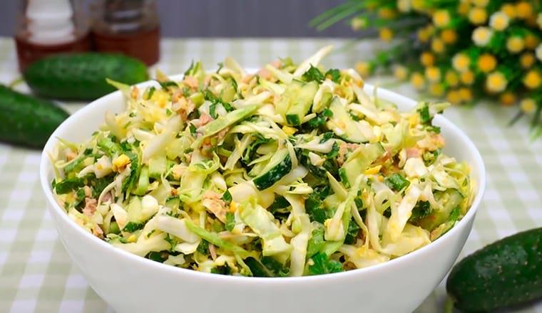 Рецепт с белокочанной капустой