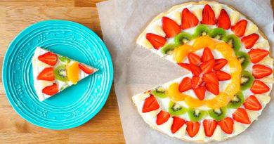 Фруктово-ягодная пицца