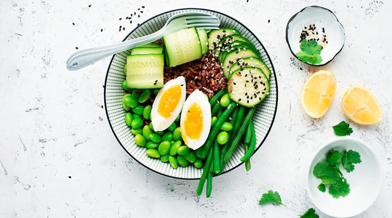Пример здорового обеда