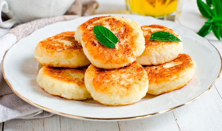 Сырники без сахара на рисовой муке