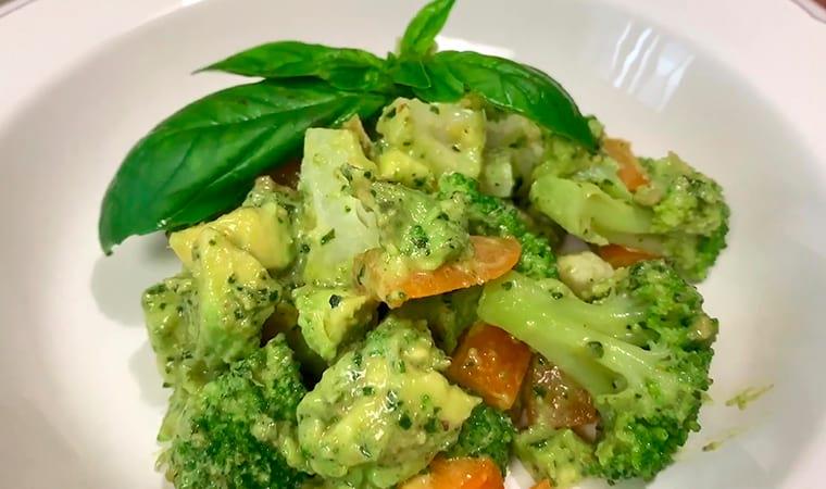 Рецепт с авокадо и брокколи