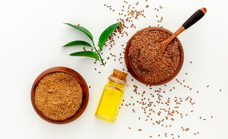 Семена льна, масло и мука