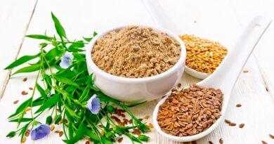 Льняная мука и семена для похудения